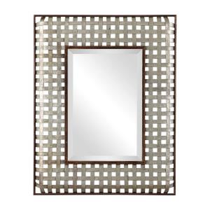 Fabelle - 36.25 inch Mirror - 28.25 inches wide by 2 inches deep