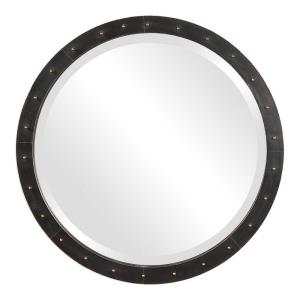Beldon - 25.5 inch Round Industrial Mirror - 25.5 inches wide by 3 inches deep