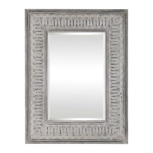 Argenton - 40.13 inch Urban Industrial Rectangular Mirror - 30.75 inches wide by 1.25 inches deep