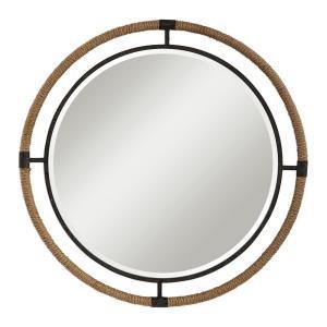 Melville - 36.25 inch Coastal Round Mirror