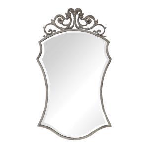 Sadie - 44 inch Distressed Scroll Mirror