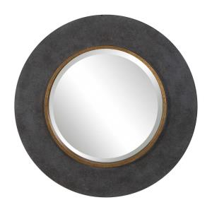 Saul - 30 inch Round Mirror - 30 inches wide by 1.89 inches deep