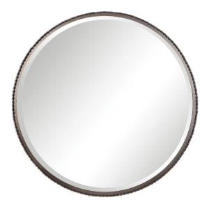 Ada - 40 inch Round Mirror - 40 inches wide by 2 inches deep