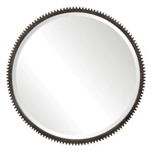 Werner - 30 inch Round Mirror - 30 inches wide by 1 inches deep