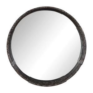 Genovia - 31.5 inch Industrial Round Mirror