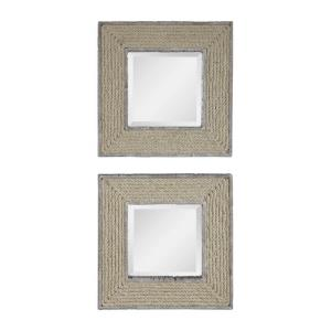 Cambay - 20 inch Square Mirror (Set of 2)