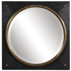 Tobiah - 18 inch Modern Square Mirror - 18 inches wide by 3 inches deep
