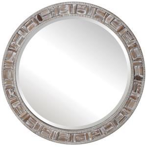 Del Mar - 35.83 Inch Round Mirror