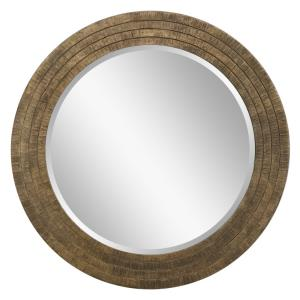 "Relic - 35.75"" Round Mirror"