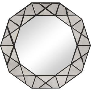 Manarola - 45.63 inch Decagon Shaped Mirror