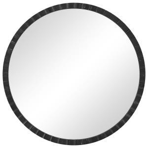 Dandridge - 34 Inch Round Industrial Mirror