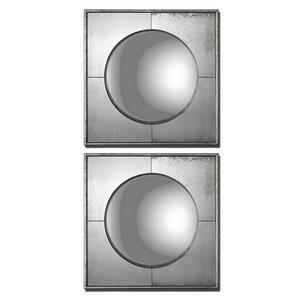 """Savio Squares - 15.75"""" Mirror (Set of 2)"""