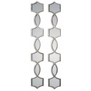 Vizela - 44.5 inch Mirror (Set of 2) - 6.25 inches wide by 1 inches deep