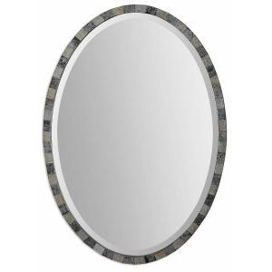 Paredes - 29.25 inch Oval Mosaic Mirror
