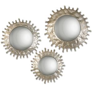 Rain Splash - 20.25 inch Round Mirror (Set of 3)