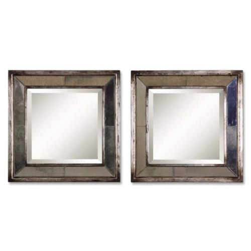 Uttermost 13555 Davion - Square Mirror Frame - 18 inches wide by 3 inches deep