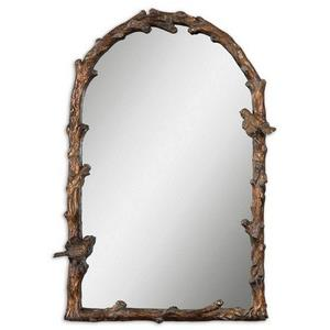 Paza - 36.75 inch Arch Mirror - 26.75 inches wide by 2.5 inches deep