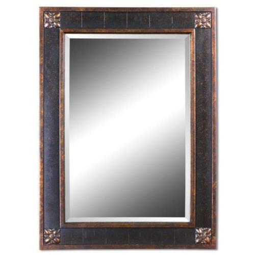 Uttermost 14156 Bergamo Vanity - Mirror Frame - 28.13 inches wide by 1.38 inches deep