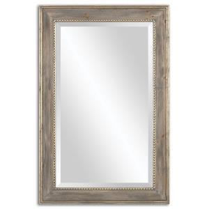 """Quintina - 35.5"""" Pine Mirror"""