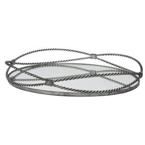 Maori - 18 inch Twisted Iron Tray