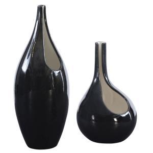 "Lockwood - 16"" Modern Vase (Set of 2)"