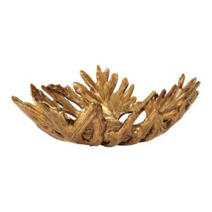 Oak Leaf - 19.75 inch Bowl - 19.75 inches wide by 17.75 inches deep