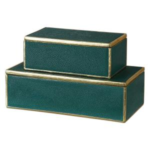 Karis - 11.75 inch Box (Set of 2) - 11.75 inches wide by 6 inches deep