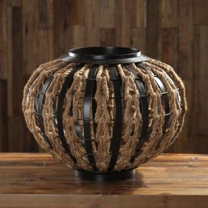 Aren - 20 inch Rope Woven Sculpture