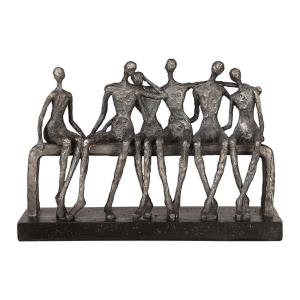 Camaraderie - 14.5 inch Figurine - 14.5 inches wide by 4.25 inches deep