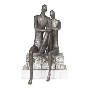 Courtship - 18.88 inch Figurine - 9.88 inches wide by 7.13 inches deep