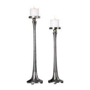 Aliso - 23 inch Candleholder (Set of 2) - 5.25 inches wide by 5.25 inches deep