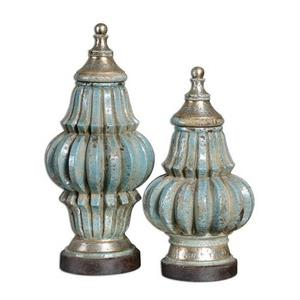 "Fatima - 19"" Decorative Urn (Set of 2)"