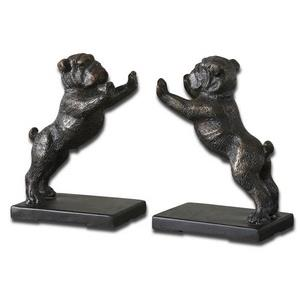 Bulldogs - 6.5 inch Bookend (Set of 2)