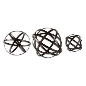 "Stetson Spheres - 11.8"" Sculpture (Set of 3)"