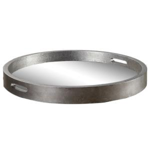 Bechet - 2.38 inch Round Tray - 22.13 inches wide by 22.13 inches deep