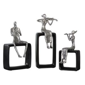 Musical Ensemble - 14.88 inch Statue (Set of 3)