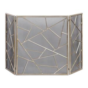 Armino - 50.5 inch Modern Fireplace Screen