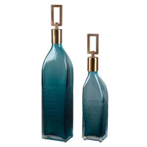 Annabella - 3.88 inch Bottle (Set of 2) - 3.88 inches wide by 2.75 inches deep