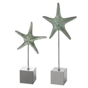 "Starfish - 24"" Sculpture (Set of 2)"