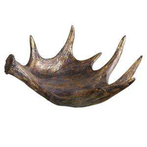 Moose Antler - 24 inch Bowl