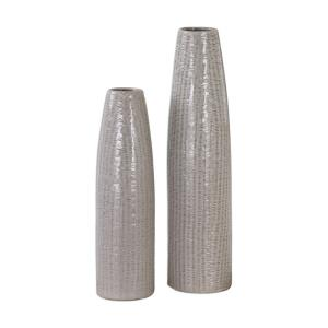 Sara - 22.5 inch Vase (Set of 2) - 5.5 inches wide by 5.5 inches deep