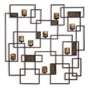 "Siam - 47.75"" Candlelight Wall Sculpture"