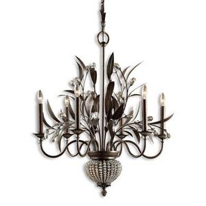 Cristal De Lisbon - Eight Light 2-Tier Chandelier