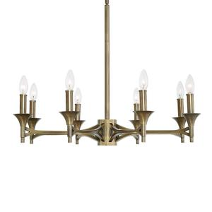 Brant - Eight Light Chandelier
