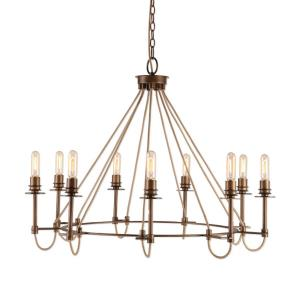 Lyndhurst - Nine Light Industrial Chandelier