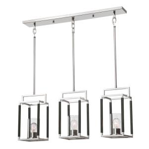 Newburgh Pendant 3 Light  - 36 inches wide by 7.25 inches deep