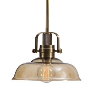 Kinnard - 1 Light Industrial Pendant - 13.5 inches wide by 13.5 inches deep