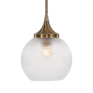 Bolla - 1 Light Mini Pendant - 9.63 inches wide by 9.63 inches deep
