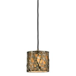 Alita Mini Pendant 1 Light  - 8 inches wide by 8 inches deep