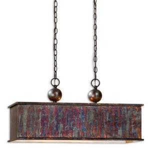 Albiano - 2 Light Rectangular Pendant